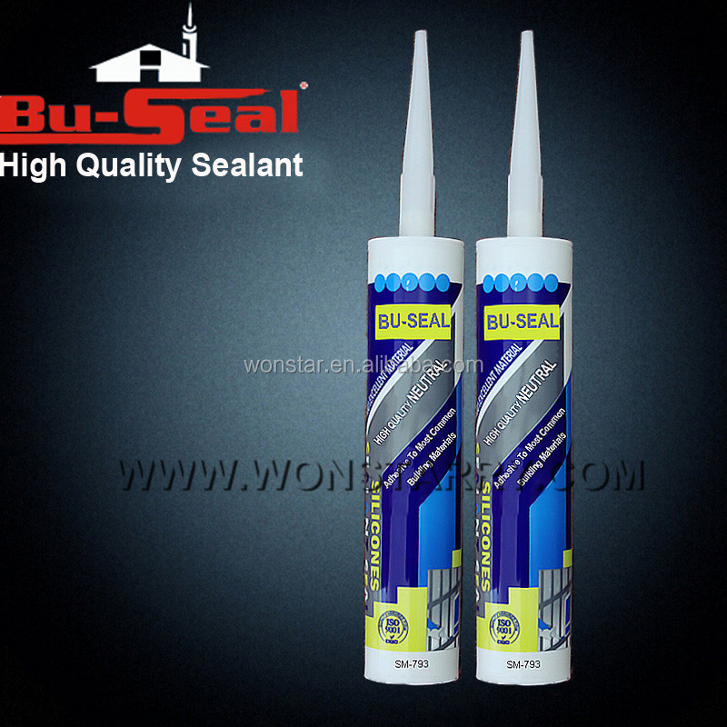 canada market neutral glass silicone sealant