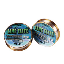100m Transparent Fluorocarbon Coating Line Super Cut Water Nylon Fishing Line Long Sevice Life
