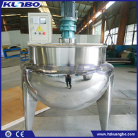 KUNBO 100L / 200L Food Processing Steam Double Jacketed Cooking Kettle