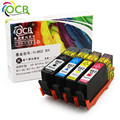 Ocbestjet 5 Pieces For HP 862XL Compatible Ink Cartridge For HP Photosmart C5324 C5370 C5373 C5380 C5383 C5388 C5390 C5393 D546