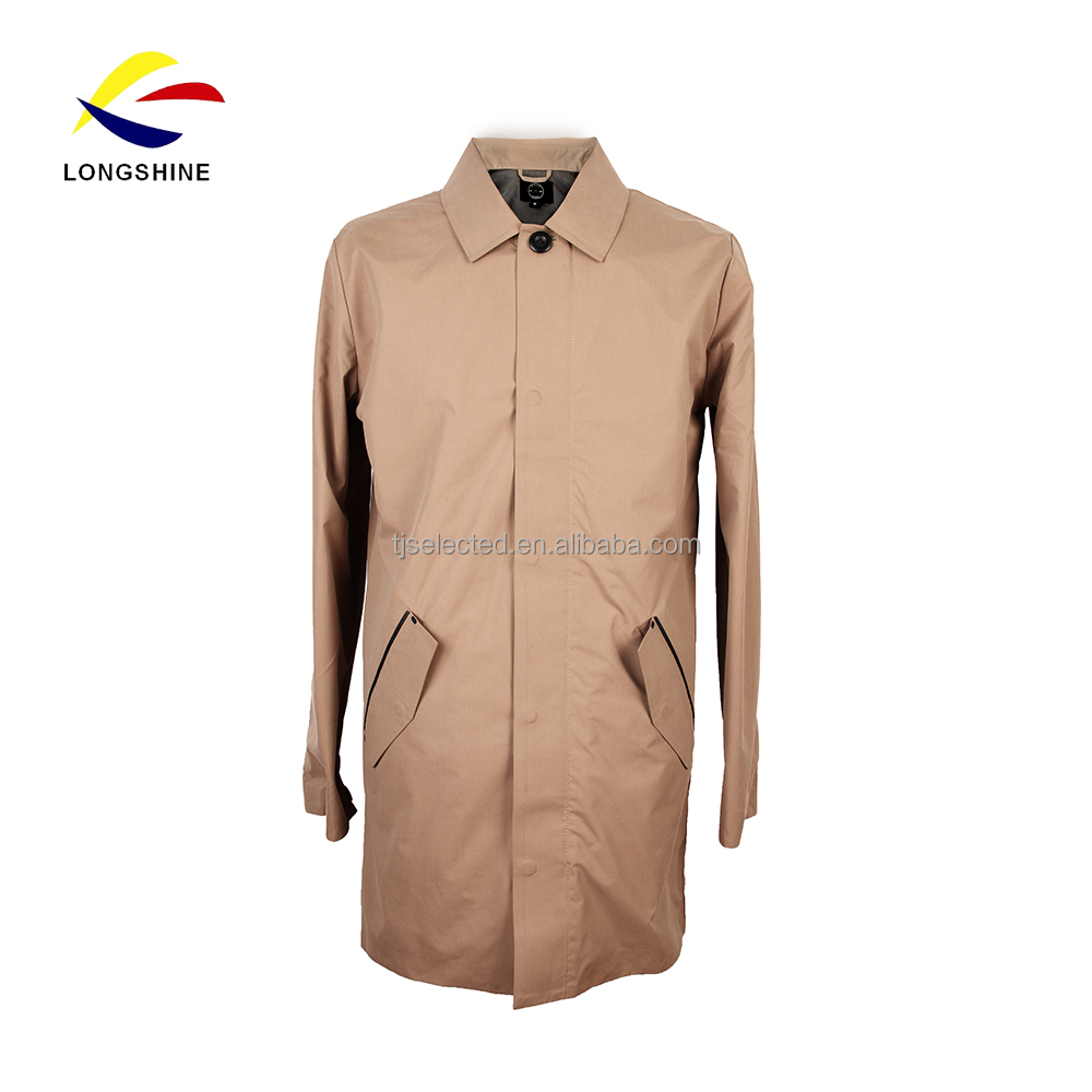 100% Polyester Coated Men's Coats