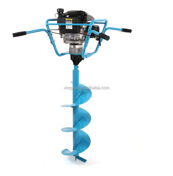 173cc gasoline earth auger for two person