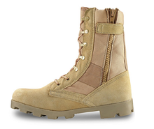 Sude jungle desert Tactical boots with Panama outsole genuine leather high quality waterproof