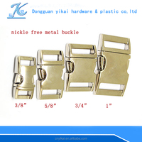 high quality curved dog buckle,metal curved buckle for dogs
