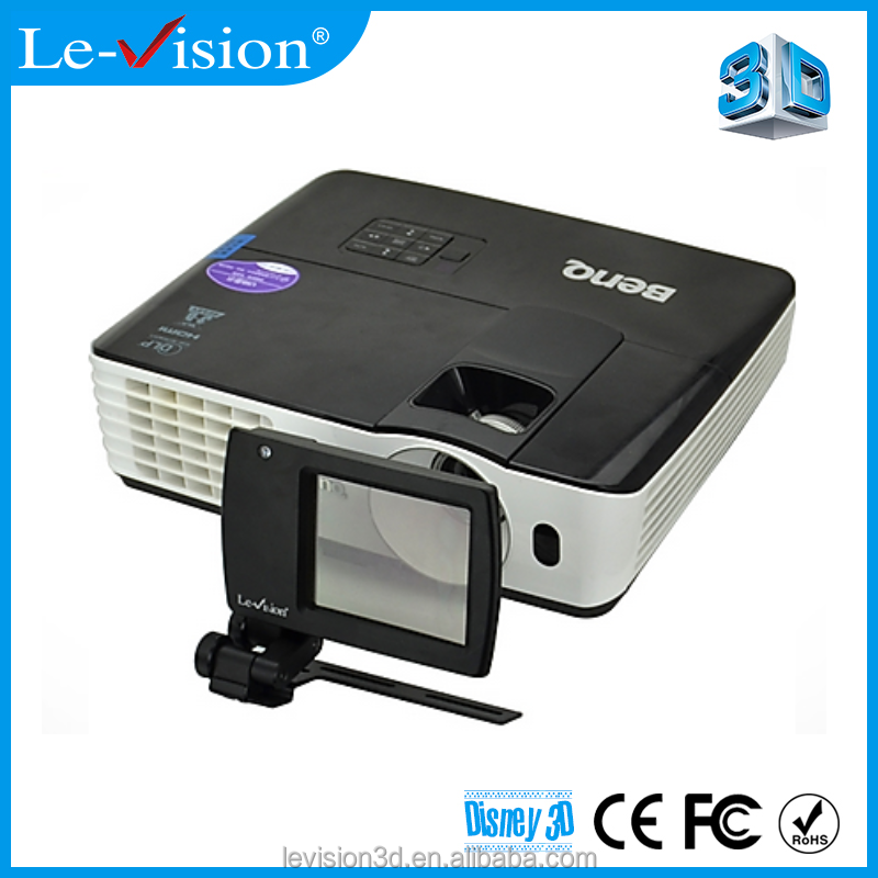 Le-Vision mini 3D polarization modulator for home theater system prices 3D cinema screen