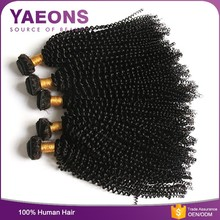 Classic female low factory price 6a grade human kinky curly hair in South Africa