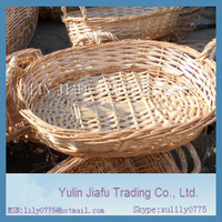2014 CAC Fair hot sale handmade weaving willow baskets for sale
