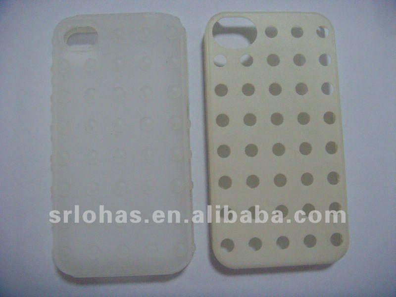 silicone plastic case for iphone 4/4s