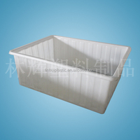 800 liters rotomoulding plastic square animal water trough