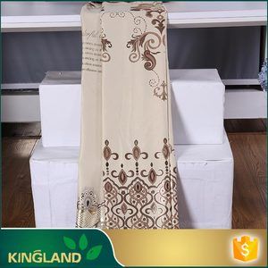 Professional curtain factory New design American Style Readymade types soft furnishings