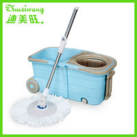 Stainless steel Pole Material and microfiber Mop Head Material 360 spin mop