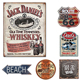 Custom Decor wall bar Crafts old printing retro Vintage metal tin signs