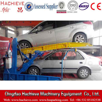 High Quality Two Post Tilt Parking Lift/ Car Parking Lift 2 Post Tilt Lift/ Tilting Car Lift
