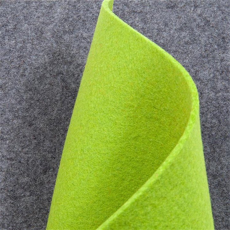 factory needle punched nonwoven fabric 3mm 5mm thick 100% wool felt
