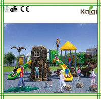 Plastic Children Park Kindergarten S Slide Outdoor Playground EquipmentKQ50014A