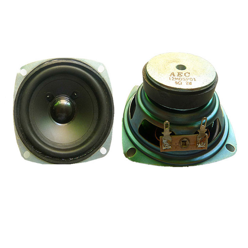 Good quality speaker 8ohm 2w 78*78mm professional speaker