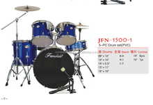 PVC drum set for 5 pcs drum set from China drum manufacture