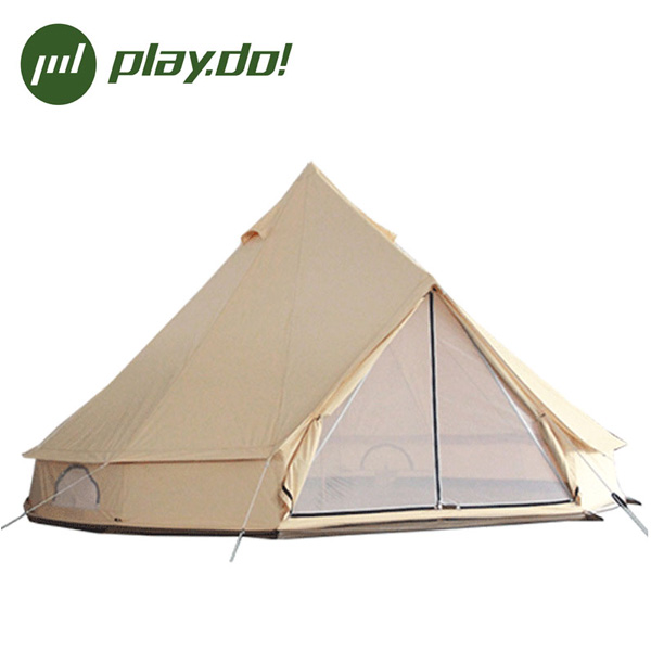 5 Meter size Outdoor Camping canvas Bell Tent for Glamping