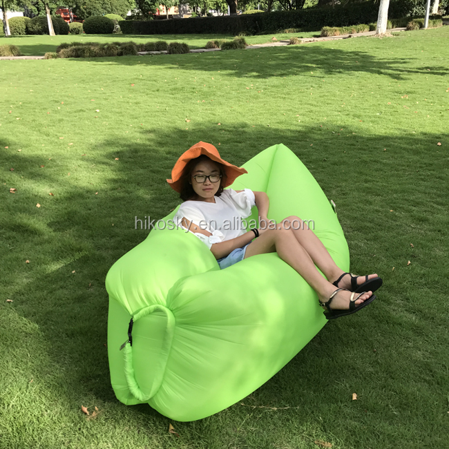 Single Person Fast Inflatable Air Bed Sofa, Stay Inflated 5 to 8 Hours
