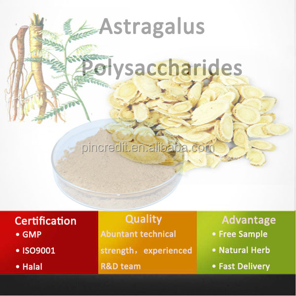 Chinese Pure Herb Astragalus Polysaccharides