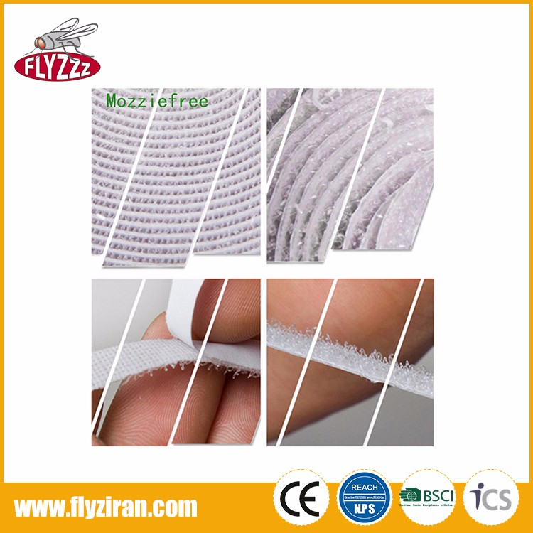 Factory price anti insect screen mesh polyester DIY magnetic mosquito net door curtain