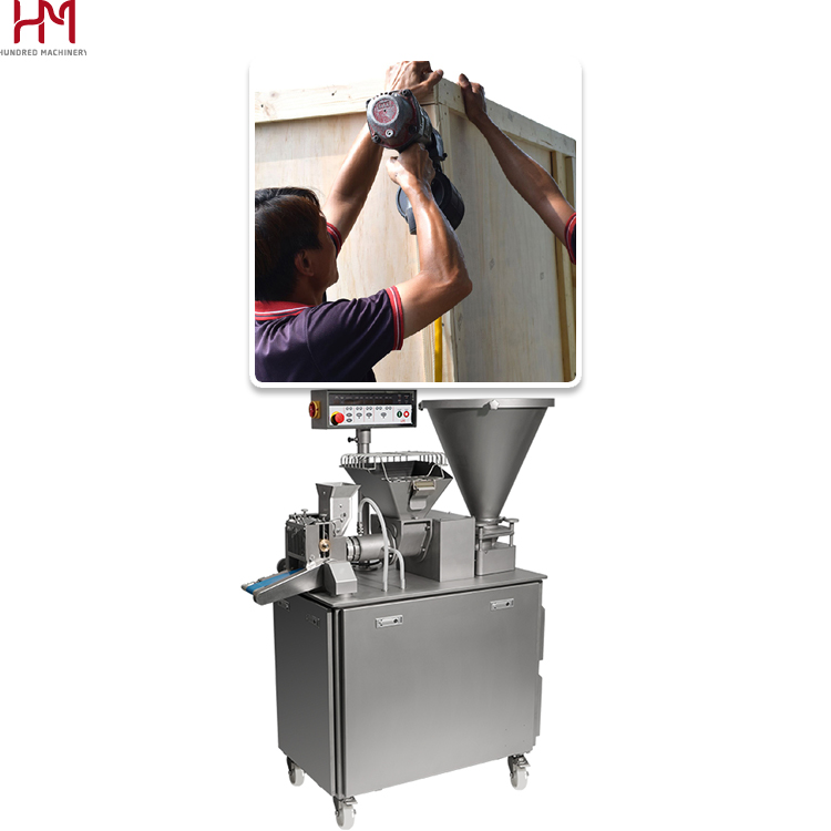 Commercial electrical pasta machine,extrusion gyoza making machinery