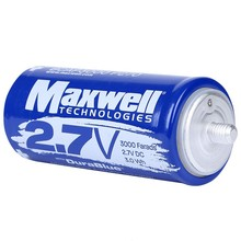 MAXWELL DuraBlue super capacitor 2.7V 3000F solar power system home hybrid car battery 3000f super capacitor