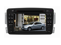 double din A8 Chipset 7inch Multimedia player For Mecerdes Bz W203