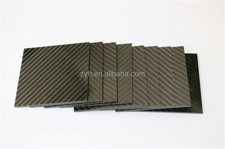 High strength Corrosion-resistant 100% carbon fiber sheet 2mm 10mm ,activated carbon sheet