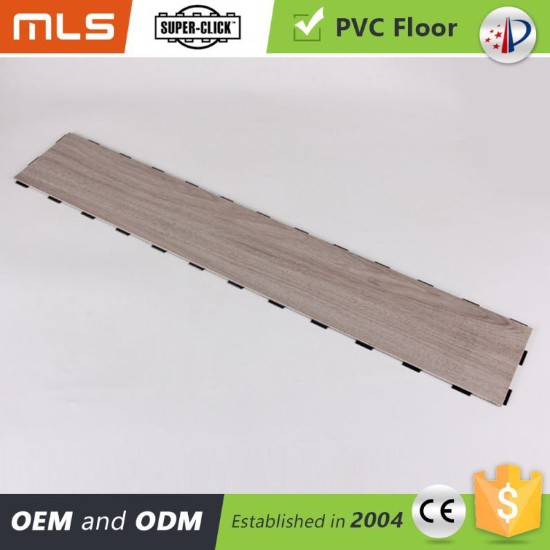 Quality Guaranteed Wood Like Click System Pvc Korean Flooring