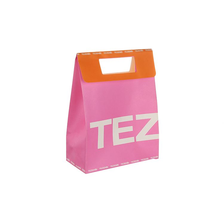 Manufacturer sale custom design euro tote paper shopping bag