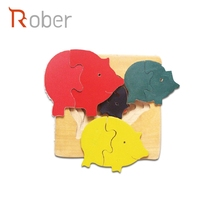 Kids Toy Printable Promotional Wooden Jigsaw Puzzle