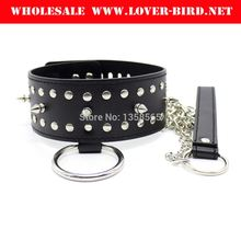Sexy Neck Slave Collar With Lock For Womens Cosplay Rivet Collar Restraint With Chain Leash Sex Products For Couples Adult Game