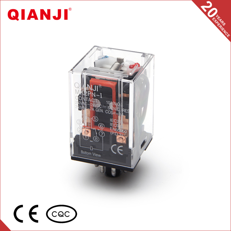 QIANJI Quality Guaranteed Single Phase General Purpose Relay MK2PN-I