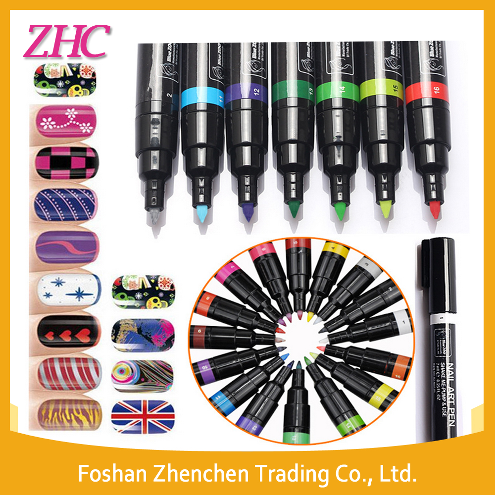 Wholesale 3d Lovely Diy Nail Polish Art Pen Easy To Drawing 16