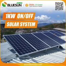 Bluesun1000w solar panel kit for home use High quality easy install