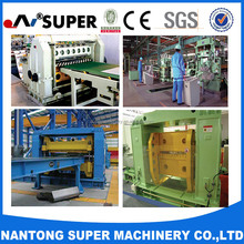 High quality transverse cutting Sheet Plate Coil slitting line machine