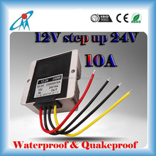 240W 12vdc to 24vdc dc to dc converter with waterproof