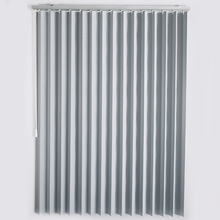 Silver Color Mini 100mm Vertical Blinds