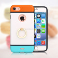 Hot Sale Slim Armor Dual Layer Phone Accessories For iPhone 7 Case With Ring Holder