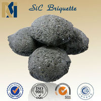 silicon carbide briquette application(60,75,88,90,95,1-10mm,0-1mm)