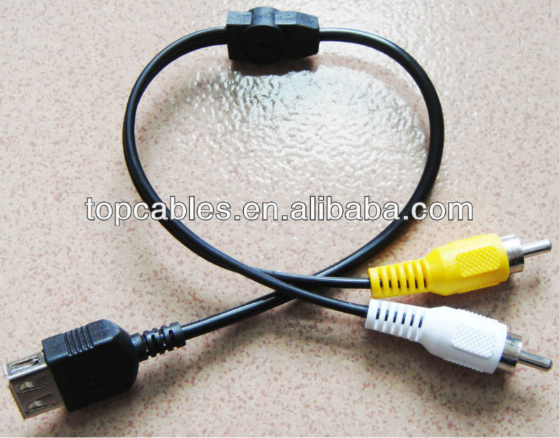 colorful retractable 2 rca cable to usb buy 2 rca cable to usb retractable 2 rca cable to usb. Black Bedroom Furniture Sets. Home Design Ideas
