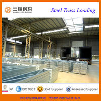 2014 light steel structure house steel truss