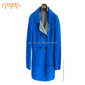 New Stylish High quality Wool Coat, Double-Faced fabric Women Coat