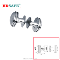 High quality Hotel stainless steel glass sliding door knob handle for 8-12mm glass door SA8500T-06
