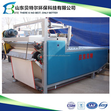 Automatic Belt filter press equipment for molybdenum ore raw materials dewatering with ISO9001