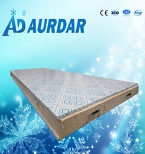 aluminum plated pu panel for cold room