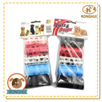 fine clean plastic new customized dog waste poop bag