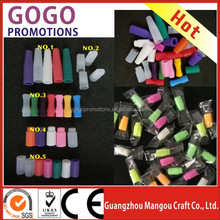510 e-cigarette soft tip vapor disposable rubber cover, disposable test tips mouthpiece ecig clean 510 silicone drip tip