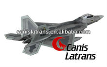 1:72 F-22 Raptor stealth combat fighter model